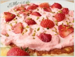 モエナカフェ パンケーキ 画像