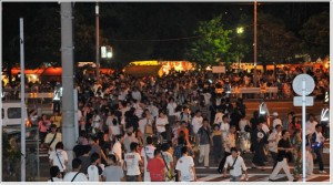 堺大魚夜市 混雑 画像
