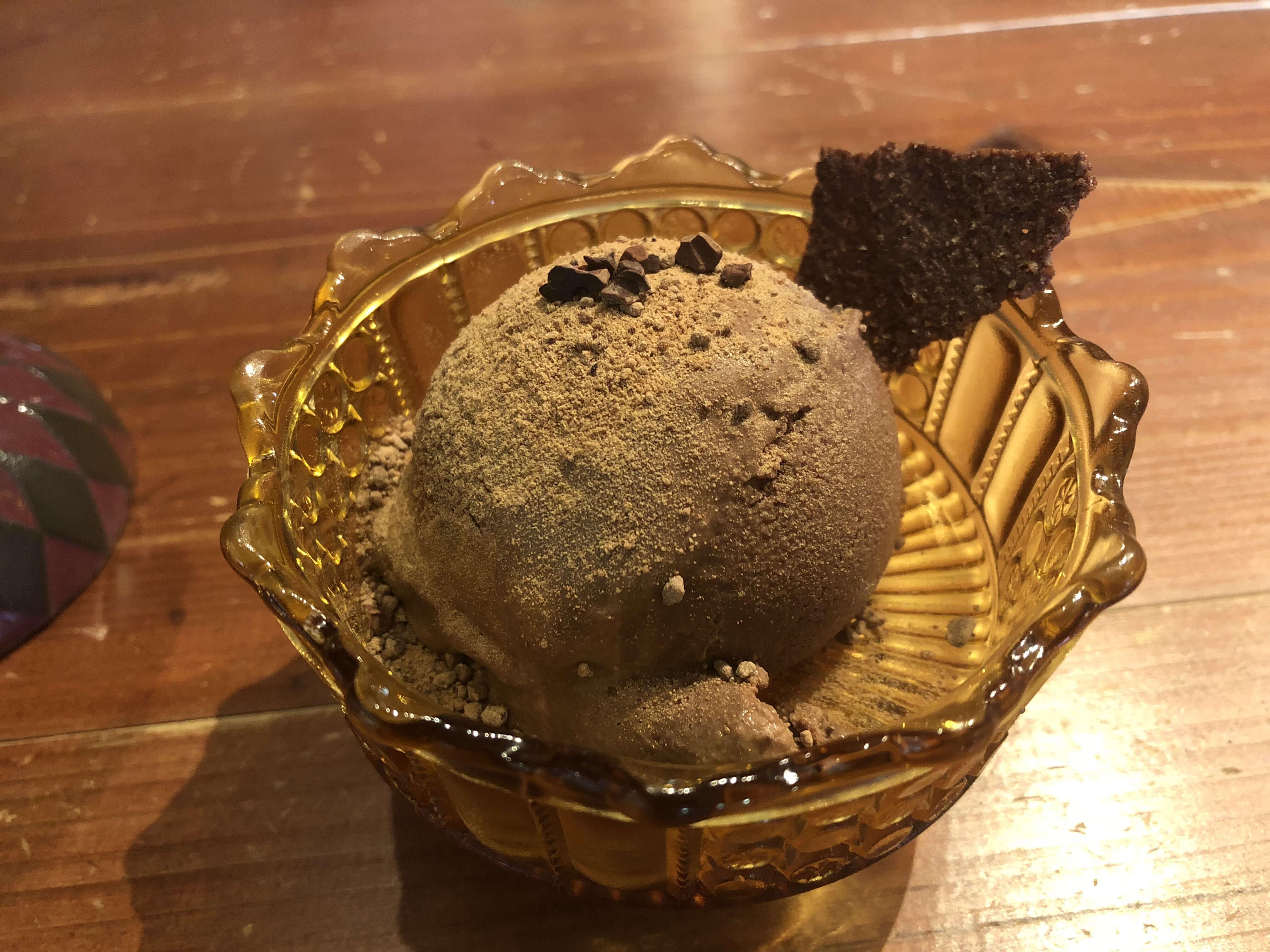 タイムレスコーヒー チョコレートアイス